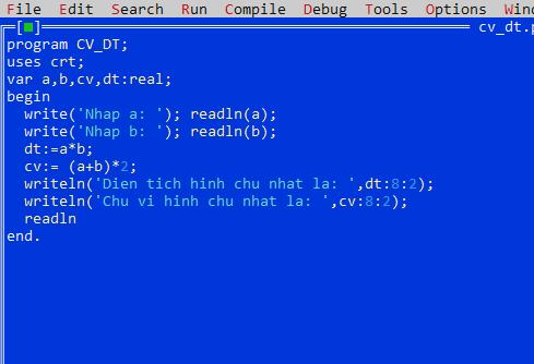 một số dạng toán về chương trình lập trình