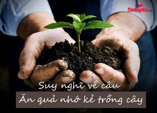 ý nghĩa của bài văn nghị luận ăn quả nhớ kẻ trồng cây
